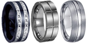 Men's Tungsten Bands