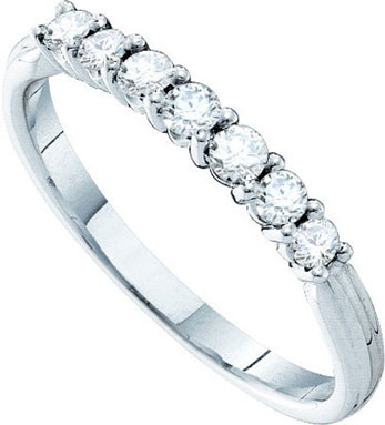 Ladies Diamond Band 14K White Gold 0.33 cts. GD-39332