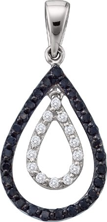 Diamond Fashion Pendant 14K White Gold 0.46 cts. GD-54864