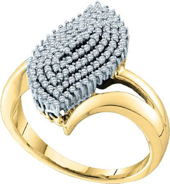 Ladies Diamond Fashion Ring 10K Gold 0.40 cts. GD-55935