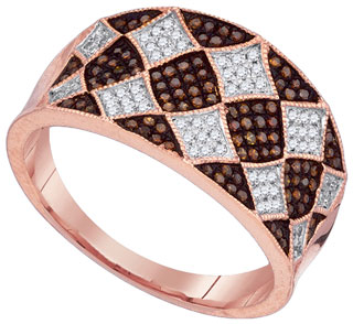 Ladies Diamond Fashion Ring 10K Rose Gold 0.40 cts. GD-88399