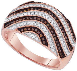 Ladies Diamond Fashion Ring 10K Rose Gold 0.50 cts. GD-88402