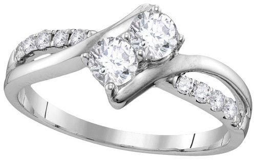 Ladies Diamond Engagement Ring 10K Gold 0.75 cts. GD-112137