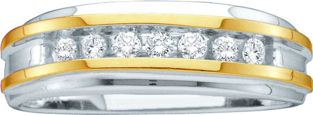 Men's Diamond Ring 10K Gold 0.25 cts. GD-39730