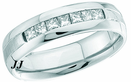 Men's Diamond Ring 14K White Gold 0.50 cts. GD-40919