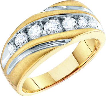 Men's Diamond Ring 10K Gold 1.00 ct. GD-55673