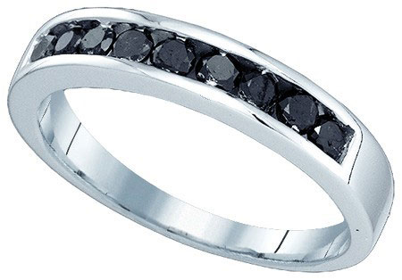 Men's Diamond Ring 10K White Gold 0.51 cts. GD-81822
