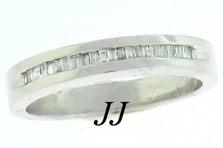 Men's Diamond Ring 14K White Gold 0.65 cts. MRX-177