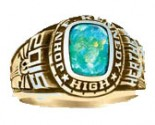 ArtCarved High School Class Ring Ladies Celebrity