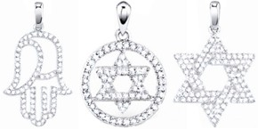 Diamond Religious Pendants