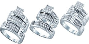 Sterling Silver His & Hers Sets
