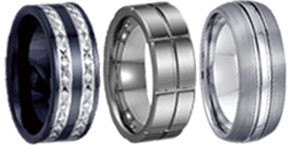 Tungsten and Ceramic Bands