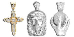Men's Diamond Pendants
