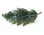 Green Leaf Pin DZ-005
