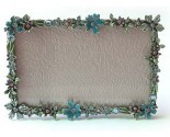 Blue Flowers Picture Frame DZ-024B