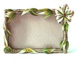 Hibiscus Picture Frame DZ-064PK