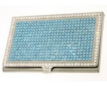 Blue Crystal Card Holder DZ-110B