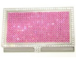 Pink Crystal Card Holder DZ-110P