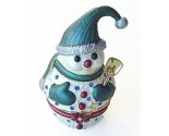 Snowman with Shovel Box DZ-168G