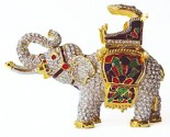 Crystal Elephant Box DZ-248