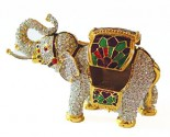 Crystal Elephant Box DZ-256