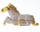 Crystal Horse Box DZ-325