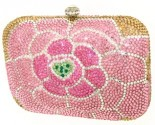 Pink Rose Crystal Purse DZ-343