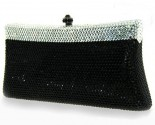 Black and White Crystal Purse DZ-360