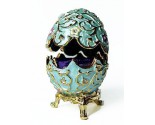 Fancy Regal Decorative Egg DZ-457B