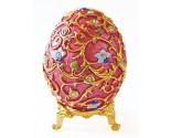 Fancy Regal Decorative Egg DZ-457P