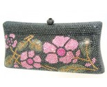 Pink Rose Crystal Purse DZ-460