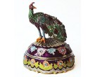 Colorful Peacock Box DZ-645