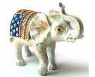 Patriotic Elephant Box DZ-686