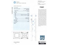 1.02 cts. Princess Cut Diamond E - VS1 GIA - 12723981 [GIA-12723981]
