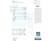 2.12 cts. Princess Cut Diamond G - VS1 GIA - 13139960
