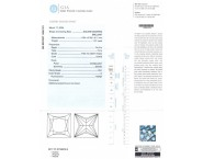 1.01 cts. Princess Cut Diamond E - VS1 GIA - 13267371 [GIA-13267371]