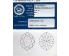 1.50 cts. Marquise Cut Diamond F - SI3 EGL