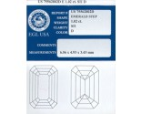1.02 cts. Emerald Cut Diamond D - SI1 EGL