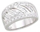 Ladies Diamond Anniversary Band 14K White Gold 0.50 cts. A64-79932