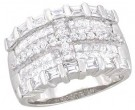 Ladies Diamond Anniversary Band 14K White Gold 2.50 cts. A64-R0532