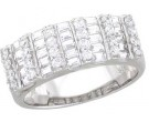Ladies Diamond Anniversary Band 14K White Gold 1.30 cts. A64-R1548