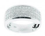 Ladies Diamond Anniversary Band 14K White Gold 2.00 ct. 6R828