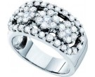 Ladies Diamond Anniversary Band 14K White Gold 1.55 cts. GD-21795