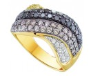 Ladies Diamond Anniversary Band 14K Yellow Gold 1.75 cts. GD-52029