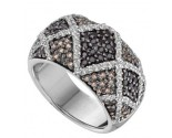 Ladies Diamond Anniversary Band 14K White Gold 1.50 cts. GD-52032