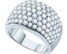 Ladies Diamond Anniversary Band 14K White Gold 3.00 ct. GD-52330