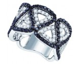 Black Diamond Fashion Band 10K White Gold 1.60 cts. GD-71597