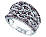Ladies Diamond Fashion Band 10K White Gold 1.06 cts. GD-71689