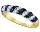 Black Diamond Fashion Band 10K Yellow Gold 0.51 cts. GD-76118