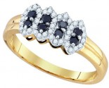 Black Diamond Fashion Band 10K Yellow Gold 0.34 cts. GD-76115